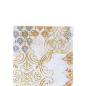 Gold Glamour Beverage Napkins 20ct
