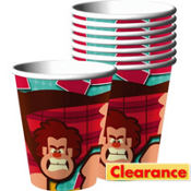 Wreck It Ralph Cups 8ct