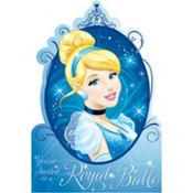 Cinderella Invitations Royal Ball 8ct