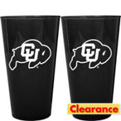 Colorado Buffaloes Pint Cups 2ct
