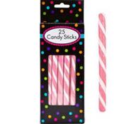 Light Pink Candy Sticks 25pc