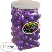 Purple Gumballs 115pc
