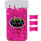 Bright Pink Party Mints 17oz