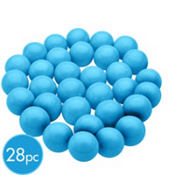 Caribbean Blue Gumballs 28pc