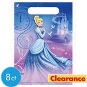 Cinderella Birthday Favor Bags 8ct