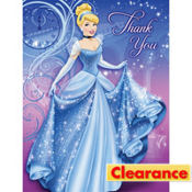 Cinderella Magic Thank You Notes 8ct