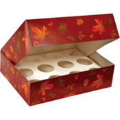 Autumn Cupcake Box