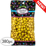 Yellow Chocolate Drops 380pc