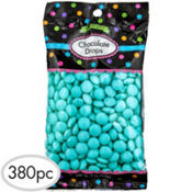 Robin's Egg Blue Chocolate Drops 380pc