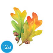 Festive Fall Leaves Cutouts 8in 6ct