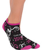 Pink Class of 2013 Graduation Ankle Socks