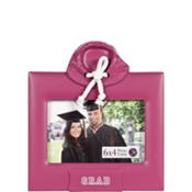 Pink Hoodie Grad Photo Frame 4in x 6in