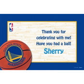Golden State Warriors Custom Thank You Note