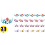 Disney Princess Tiara Combs 24ct