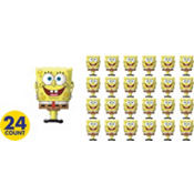 SpongeBob Eraser 24ct