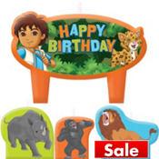 Go, Diego, Go! Birthday Candles 4ct