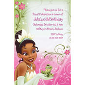 Tiana Custom Invitation