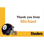 Pittsburgh Steelers Custom Thank You Note