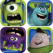 Monsters University Dessert Plates 8ct
