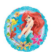 Foil Little Mermaid Balloon 18in
