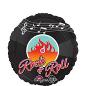 Foil Rock and Roll Balloon 18in