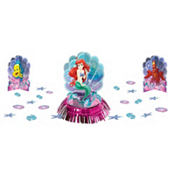 Little Mermaid Table Decorating Kit 23pc