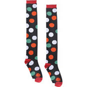 Holiday Dots Knee Socks