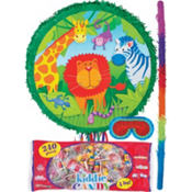 Jungle Animals Pinata Kit