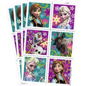 Frozen Stickers 4 Sheets