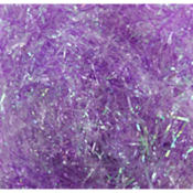 Iridescent Purple Plastic Easter Grass