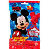 Mickey Mouse Candy Rings 4ct
