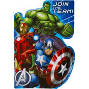 Avengers Invitations 8ct