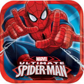 Spider-Man Lunch Plates 8ct