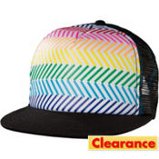 Rainbow Lines Trucker Hat