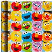 Sesame Street Gift Wrap