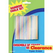 Rainbow Chalk Set 5ct