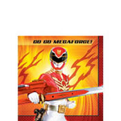 Power Rangers Beverage Napkins 16ct