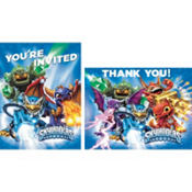 Skylanders Invitations & Thank You Notes for 8
