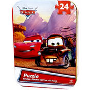 Cars Puzzle Tin 24pc