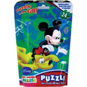 Mickey Mouse Clubhouse Puzzle Bag 24pc
