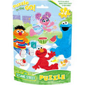 Sesame Street Puzzle Bag 24pc