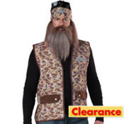 Adult Phil Accessory Kit - Duck Dynasty