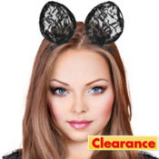 Lace Cat Ear Hair Clips