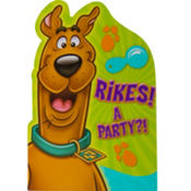 Scooby-Doo Invitations 8ct