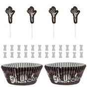 Skeleton Cupcake Decorating Kit