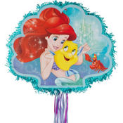 Pull String Little Mermaid Ariel Pinata