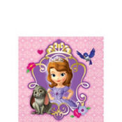 Sofia the First Beverage Napkins 16ct