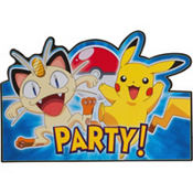 Pokemon Invitations 8ct