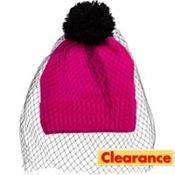 Veil Hot Pink Beanie