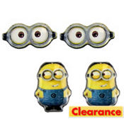 Minions Earrings Set - Despicable Me